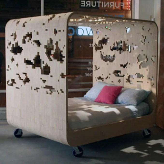 Eccentric Bed Design