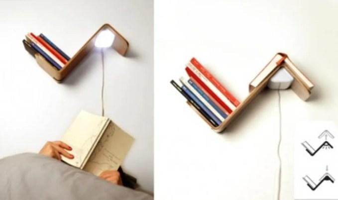 Floating Creative Bookcase