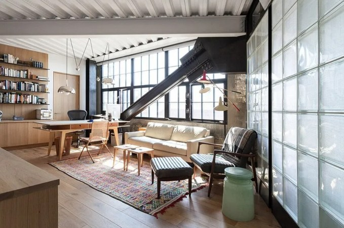 Loft Home Office