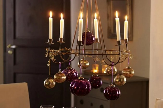 Top 7 christmas decor ideas with candles to warm up your for 7 candle christmas decoration