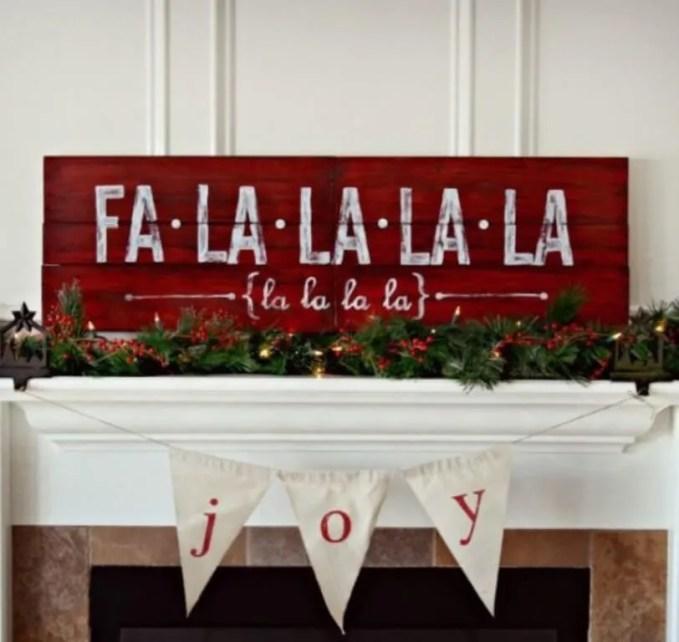 Creative Christmas Sign