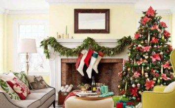 12 Dreamy and Festive Christmas Fireplace Mantel Decor Ideas