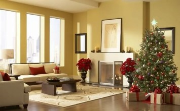 12 Most Gorgeous and Inviting Christmas Living Room Decor Ideas