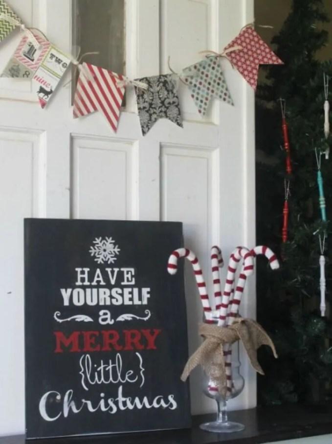 Festive Christmas Sign