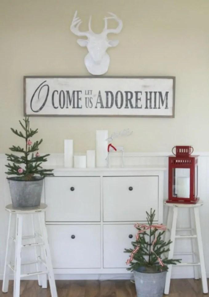Inspirative Christmas Sign