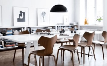 12 Bold High Contrast Dining Room Design Ideas