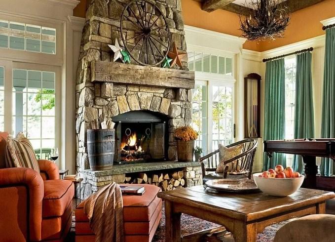 Under Fireplace Wood Storage