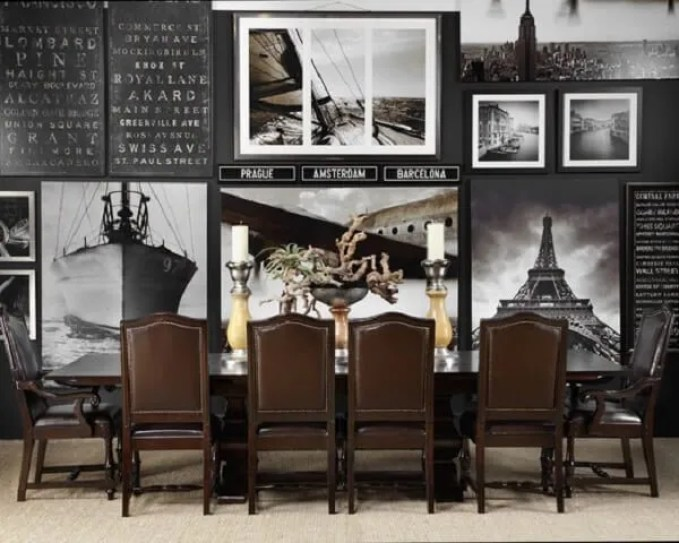 Wonderful-Pictures-Art-Decor-for-Masculine-Dining-Room-Interior