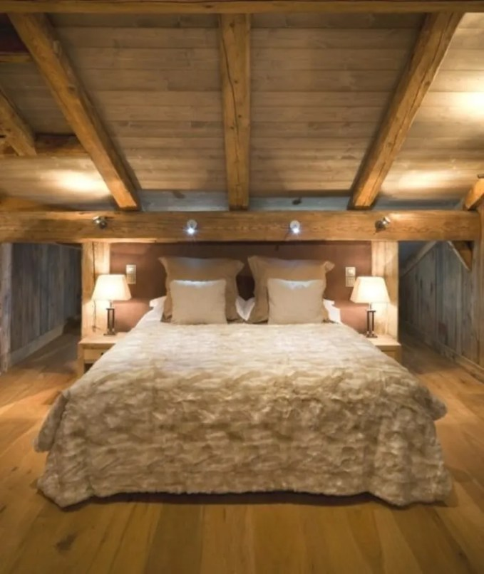 Attic Challet Bedroom