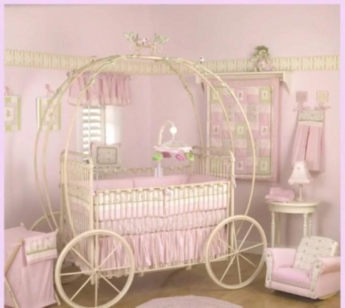 Classy Princess Inspired Girls Bedroom