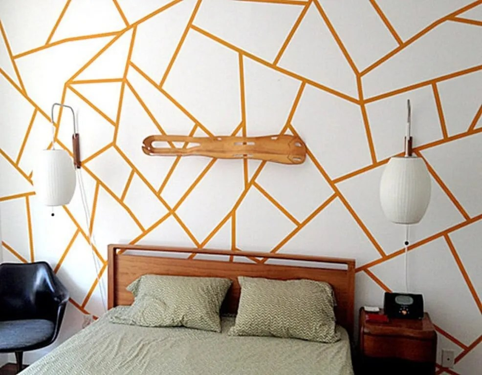Bedroom Wallpaper Diy