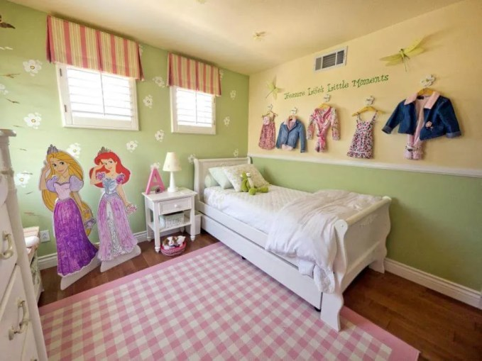 Disney Princess Inspired Girls Bedroom