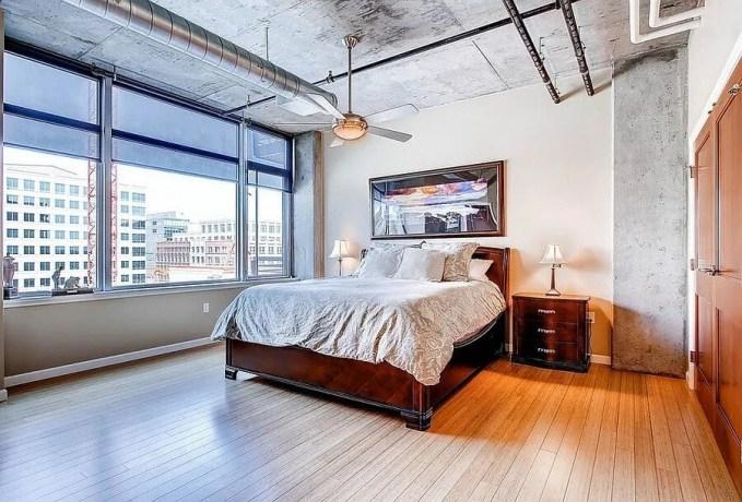 Loft Indsutrial Chic Bedroom