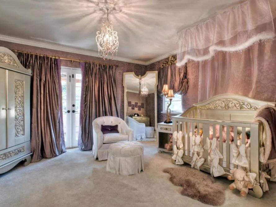 astounding rich girls bedroom rooms | 10 Princess Themed Girl's Bedroom Design Ideas - https ...