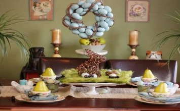 12 Amazing Easter Centerpieces for a Festive Table