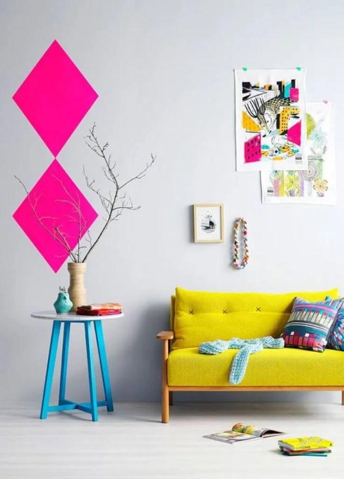 Refreshing Yellow Sofa Design