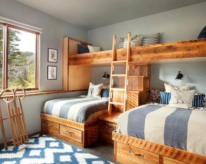 Dreamy Rustic Kid's Bedroom