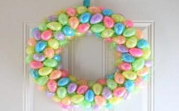 11 Super Lovely Easter Door Wreath Design Ideas