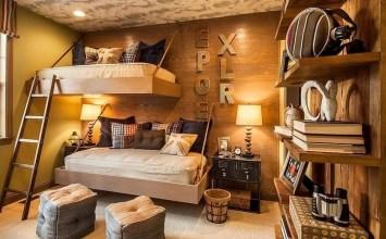 14 Rustic Kid's Bedroom Design Ideas