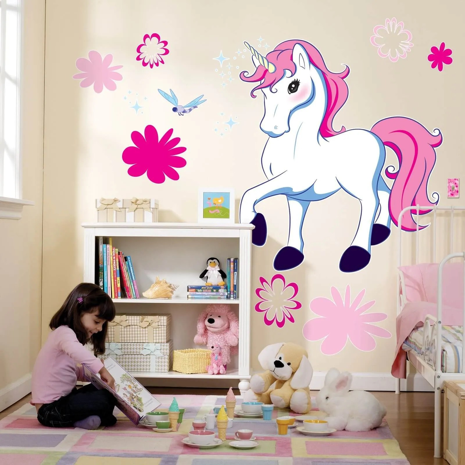 Girls Bedroom Decoration Ides: 9 Unicorn Inspired Bedroom For GIrls