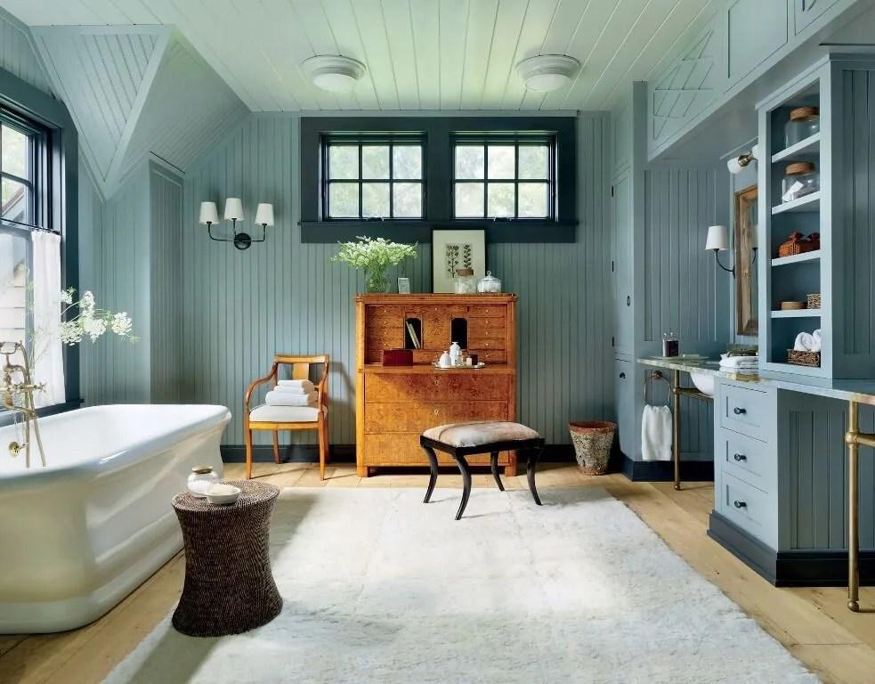 Farmhouse Bathroom Wall Paint Colors