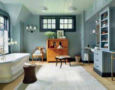 Best Paint Color For Farmhouse Bathroom