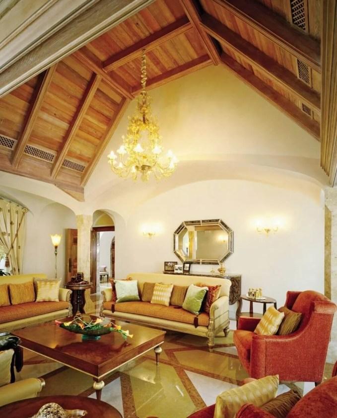 Cedar Wood Ceiling