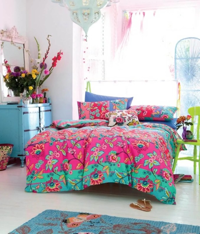 Colorful Boho Chic Kid's Bedroom
