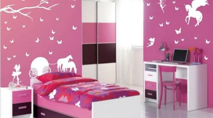 Girly Unicorn Bedroom