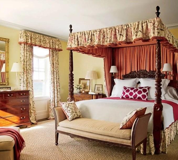 Homey Serene Farmhouse Bedroom