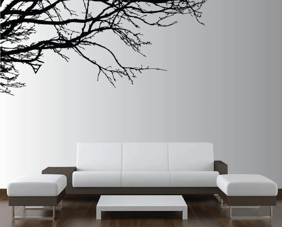 Living Room Wall Decal 10 modern wall decal ideas for the living room - https