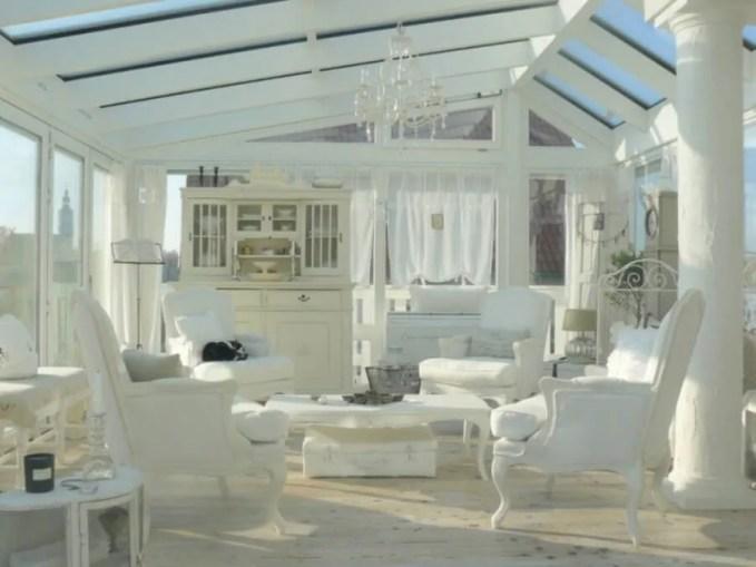 Serene Shabby Chic Living Room