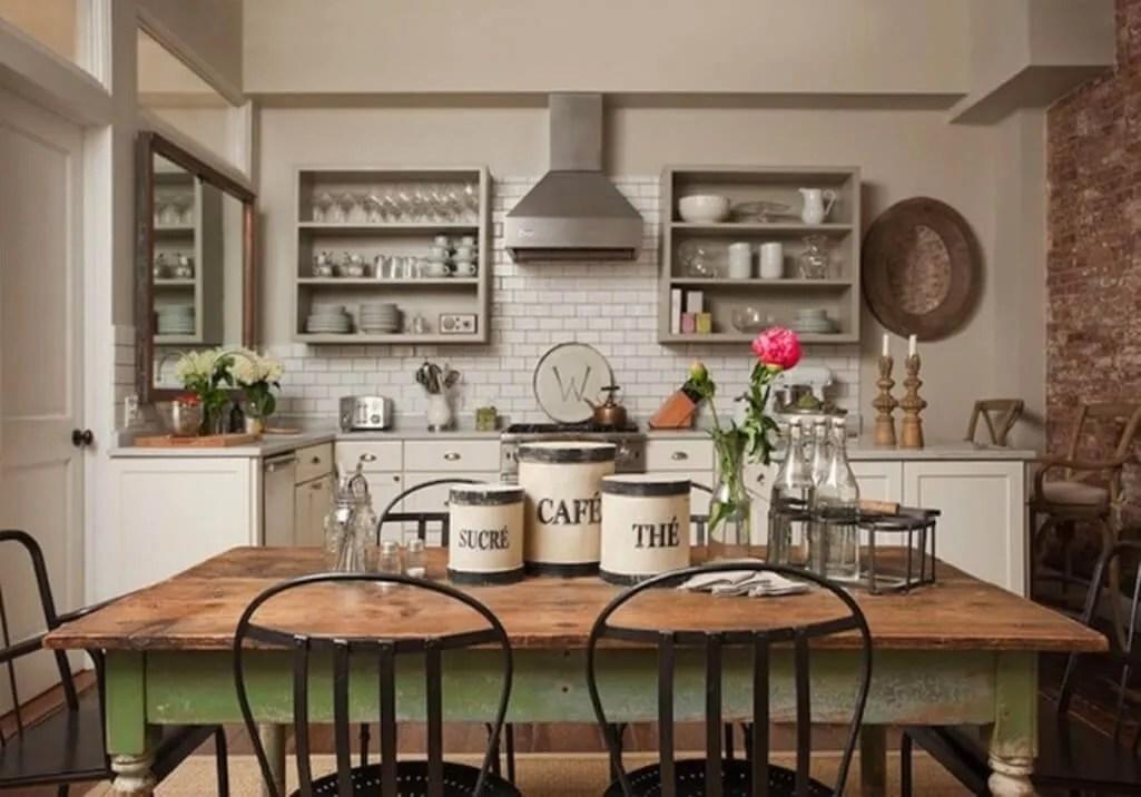 8 farmhouse kitchen design ideas for Old farmhouse kitchen ideas