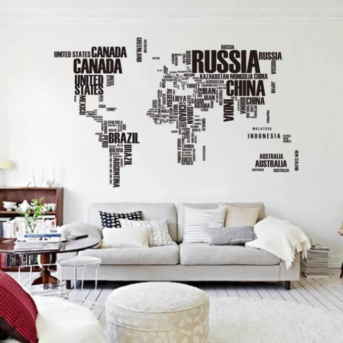 Wall Typography Decal