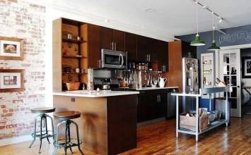 10 Contemporary Industrial Kitchen Design Ideas