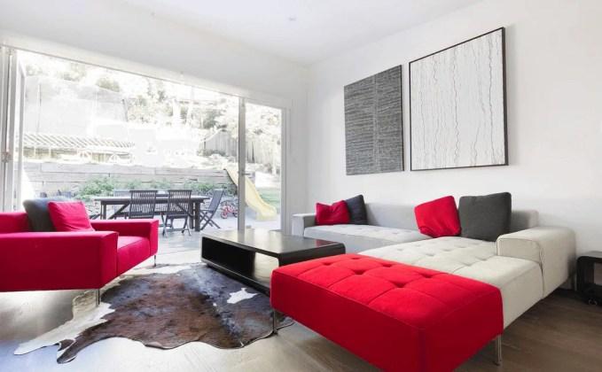 Minimalist Summer Living Room