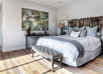 8 Wooden Headboard Design Ideas For Natural Charm in The Bedroom