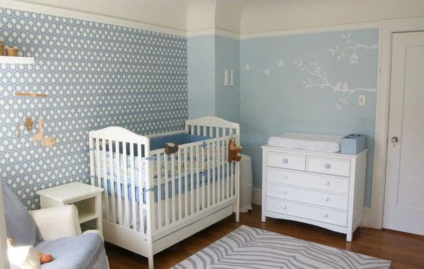 Soft Blue Nursery