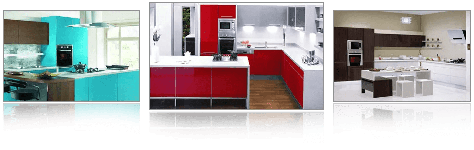 L Shaped Modular Kitchen Design. U/C Shaped Modular Kitchen. Straight Modular  Kitchen Design. Island Modular Kitchen Design