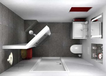 6 Small Bathroom Ideas on a Budget