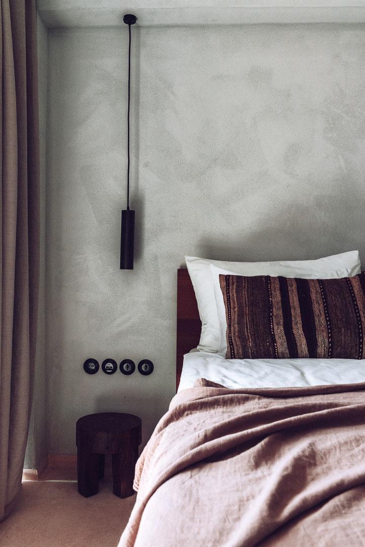 Imagen arquitectura real estate decoración interior dormitorio hotel casa cook ibiza
