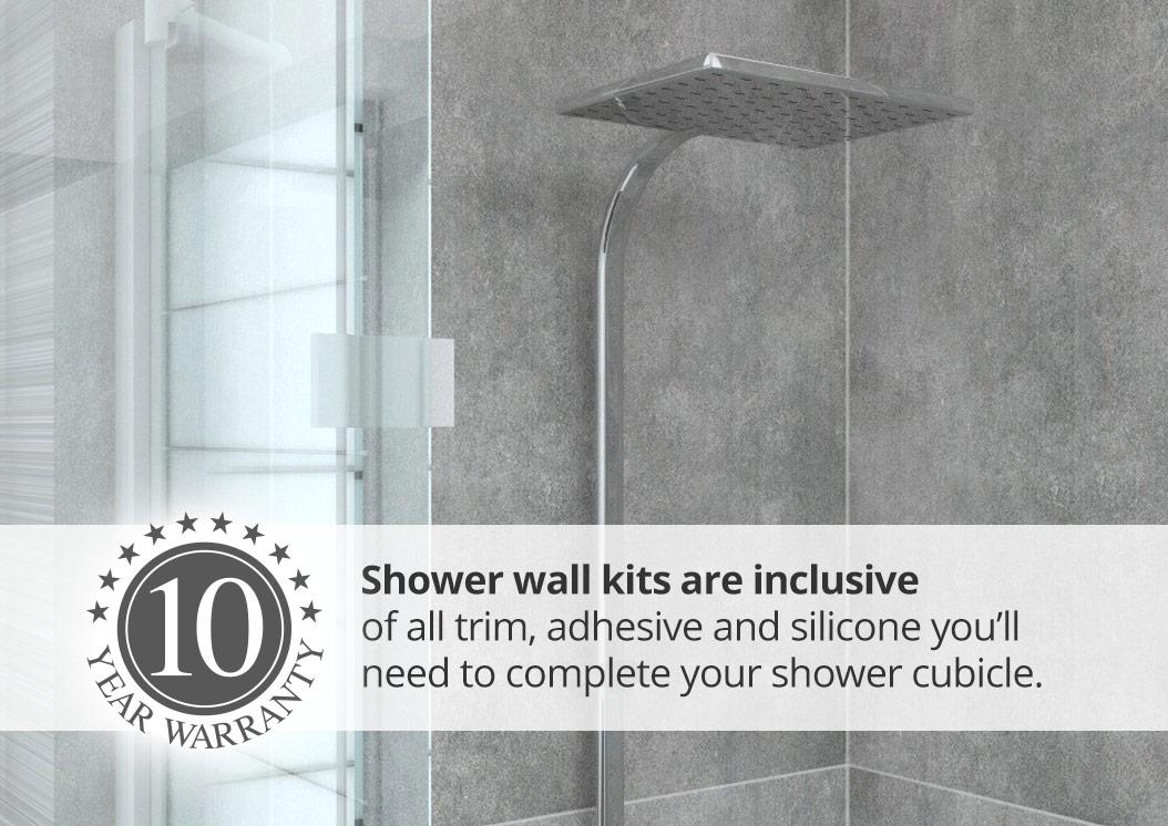 shower tile panels tile effect panel