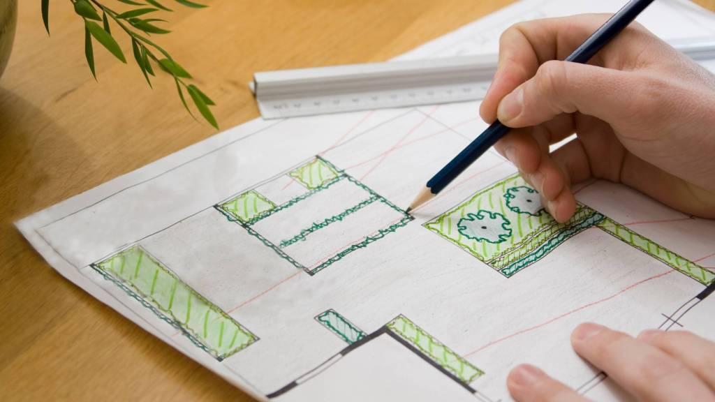 tuin tekenen