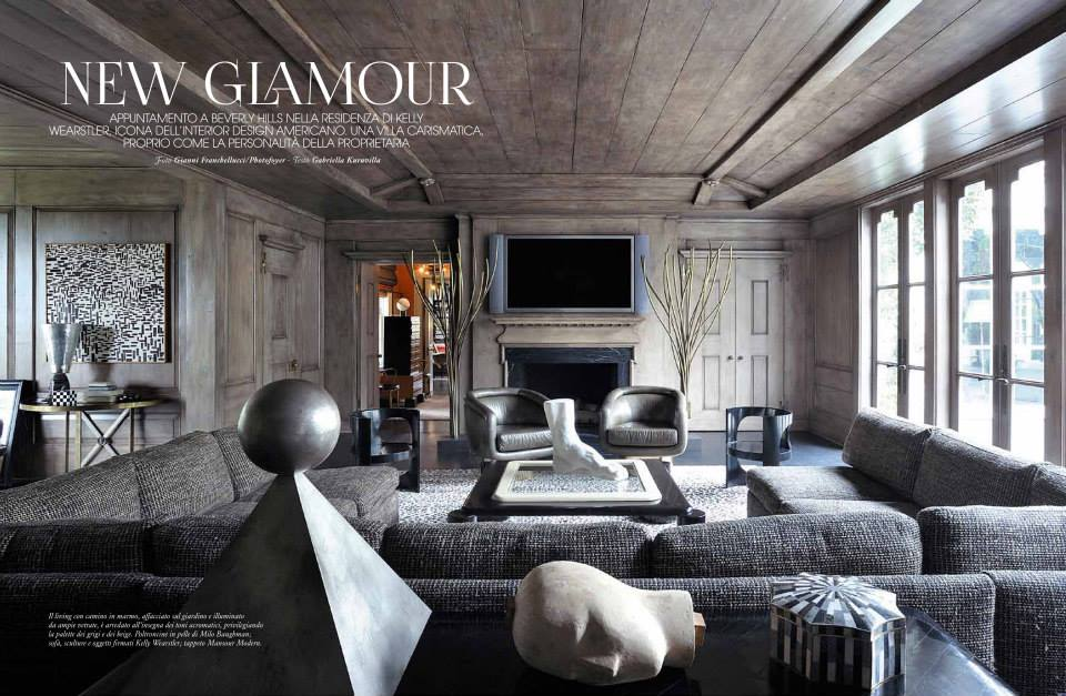Kelly Wearstler In Marie Claire Maison Spring 2014 Interiors By Color