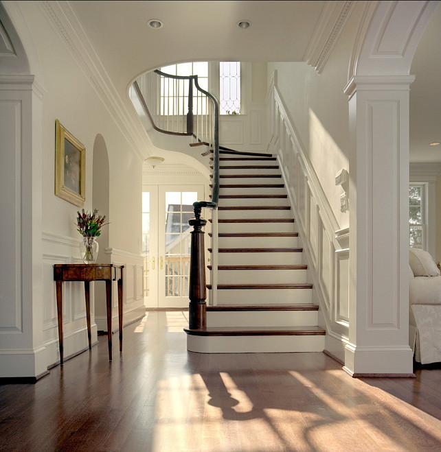 Linen White Staircase Interiors By Color
