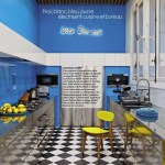 Blue And Yellow Kitchens Interiors By Color 1 Interior Decorating Idea