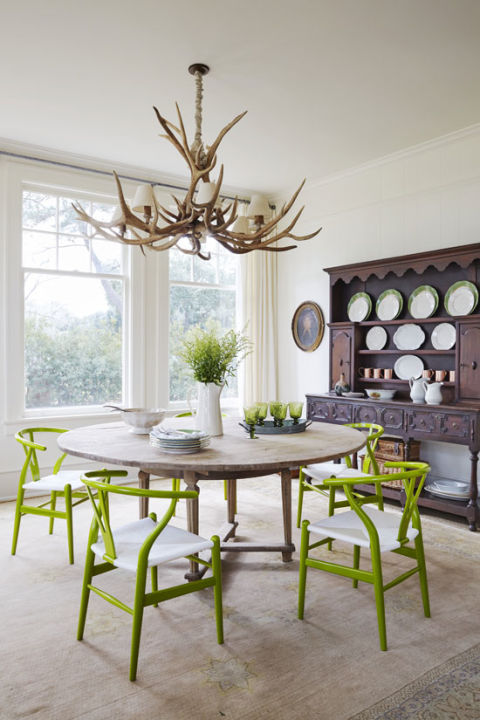 Painted Dining Chairs Interiors By Color 7 Interior Decorating Ideas
