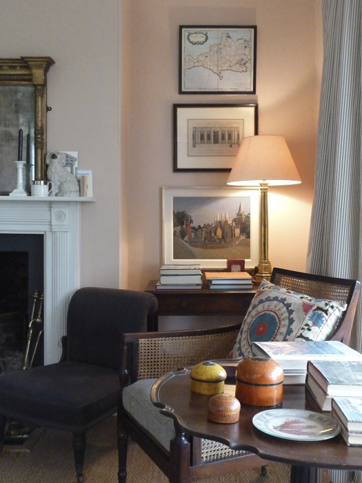 Farrow Amp Ball S Setting Plaster Sitting Room Interiors