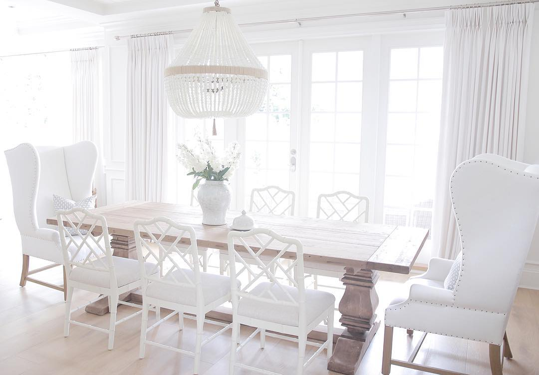 White Coastal Home Painted In Benjamin Moores Simply White Interiors By Color