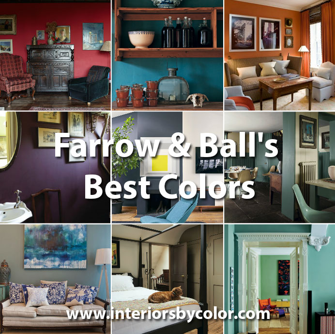 Farrow Ball Brinjal Interiors By Color 1 Interior Decorating Idea